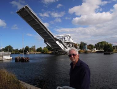 Normandy Pegasus Bridge portrait